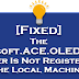 Fixed - The 'Microsoft.ACE.OLEDB.12.0' Provider Is Not Registered On The Local Machine