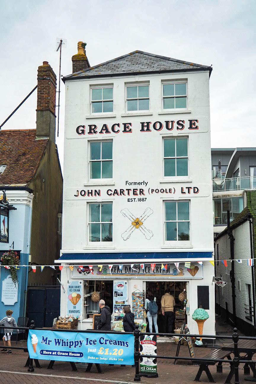 Grace House pub, Poole harbour
