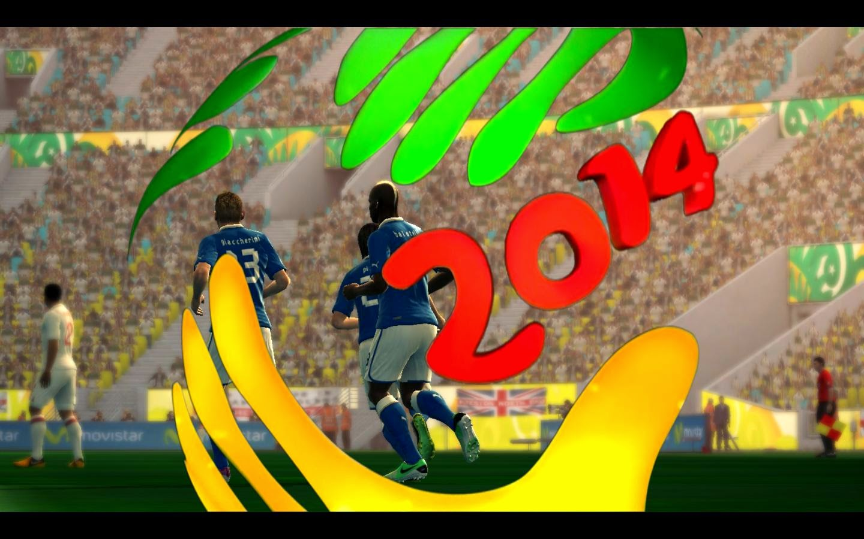 PES 2013 EA FIFA World Cup 2014 Scoreboard by Radeqq81