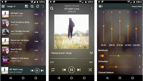 PowerAudio Pro Music Player v4.0.5 For Android