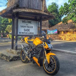 JURAGAN MOGE BEKAS JAKARTA : Ducati sf 848 tahun 2013