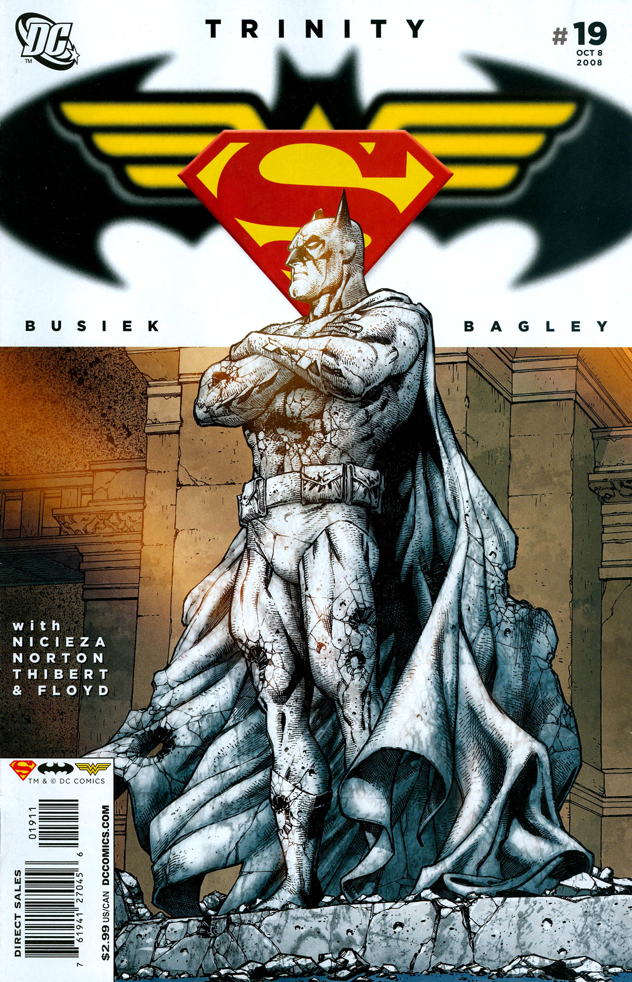 Read online Trinity (2008) comic -  Issue #19 - 1