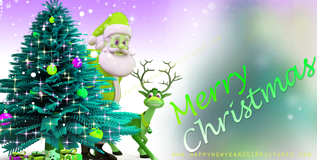 Merry christmas and new year 2018 animated images wallpaper greetings