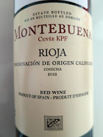 Montebuena Cuvée KPF 2012 from DOC Rioja, Spain (88 pts)
