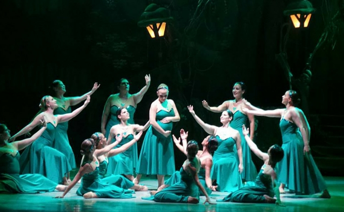 Ballet Evelyn em São Paulo