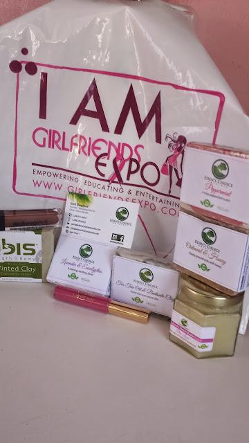 Girlfriends Expo 2015 Haul - www.modenmakeup.com