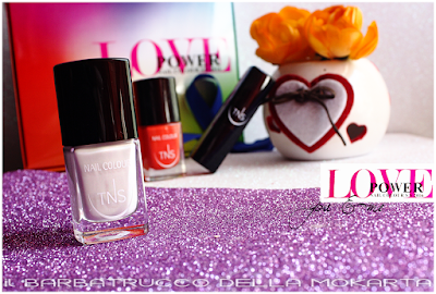nails lipstick -  Love Power Collection - TNS Cosmetics