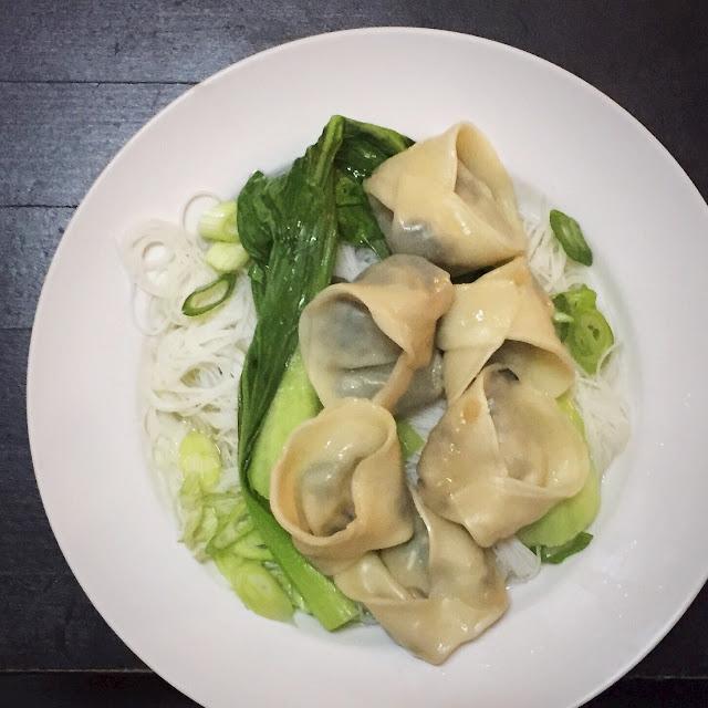 green dumplings