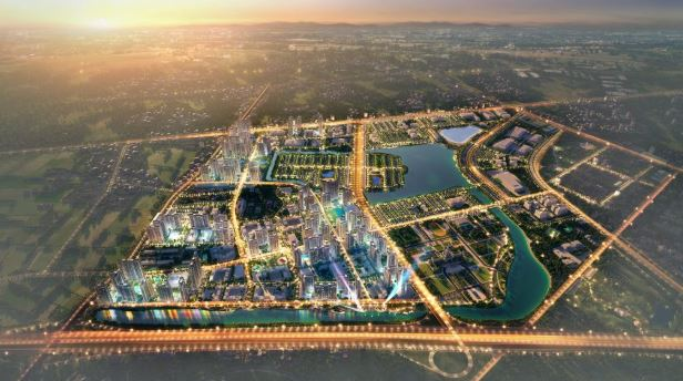 Toàn cảnh khu đô thị Vincity Ocean Park Gia Lâm