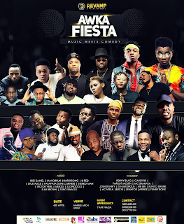 Kiss Daniel, Harrysong, Mayorkun, Yaw, Kenny BLaq, Accapella, Others All Set To Storm Awka Fiesta As Music Meets Comedy This Easter