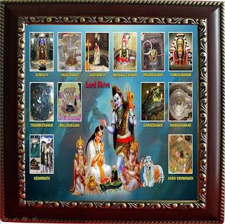 12 Jyotirlinga of Lord Shiva | Lord shiva's all lings