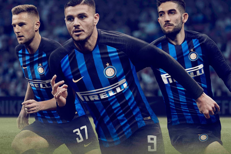 369a2c5becc Inter 18-19 Home Kit Buy now. Free worldwide delivery on all orders