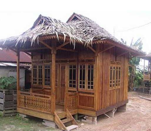 Contoh Desain Rumah Bambu Minimalis Modern Terbaru