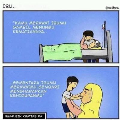 kisah ibu