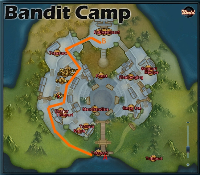 Swordsman Online Bandit Camp