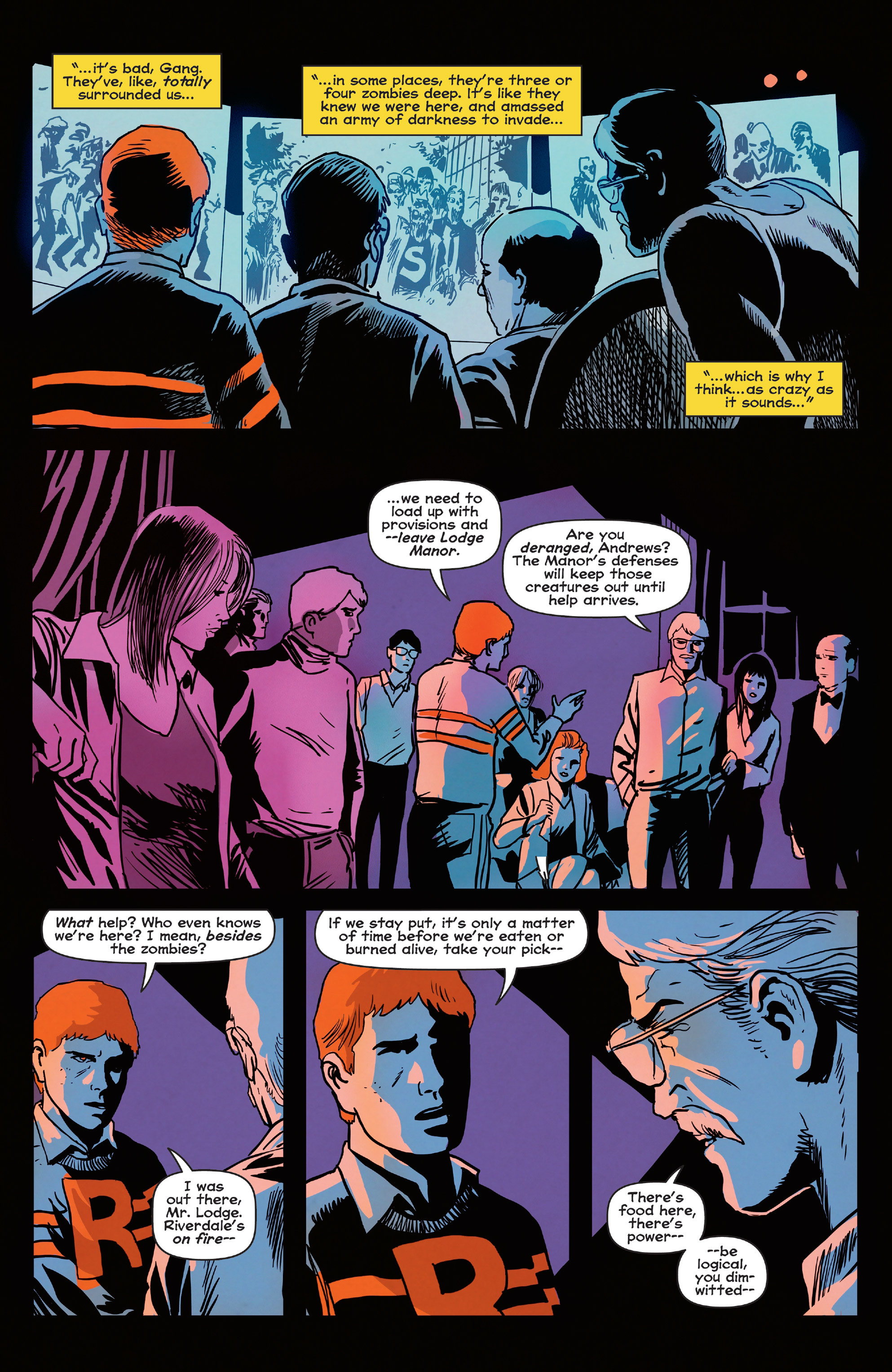 Read online Afterlife with Archie comic -  Issue #5 - 18