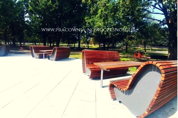 ławki z drewna Warszawa
