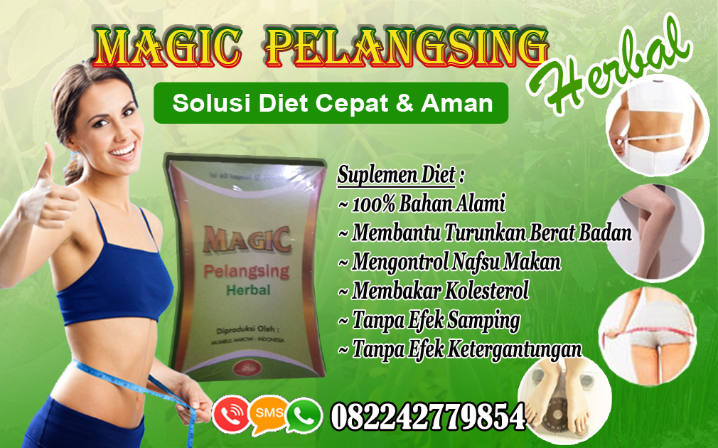 MAGIC PELANGSING HERBAL CARA DIET ALAMI