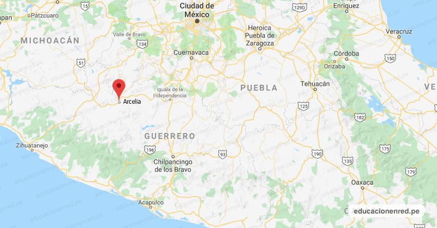 Temblor en México de Magnitud 4.1 (Hoy Viernes 01 Noviembre 2019) Sismo - Epicentro - Arcelia - Guerrero - GRO. - SSN - www.ssn.unam.mx
