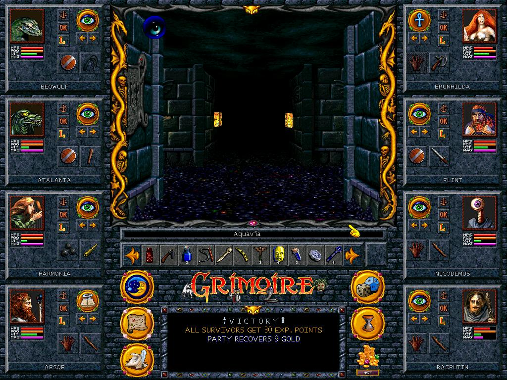 Grimoire Game