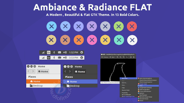 Ubuntu Ambiance and Radiance Flat