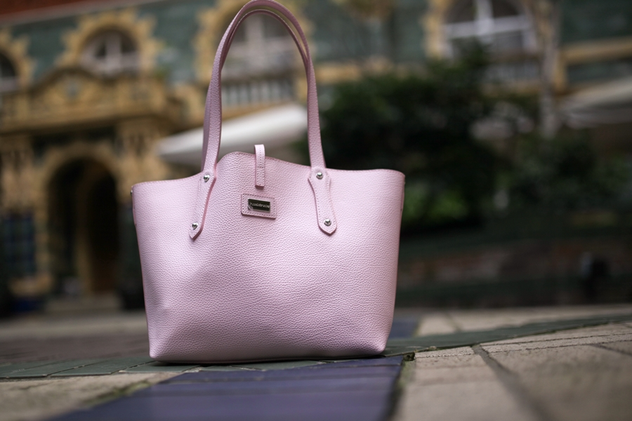 russell bromley bag pink the apartment lfw