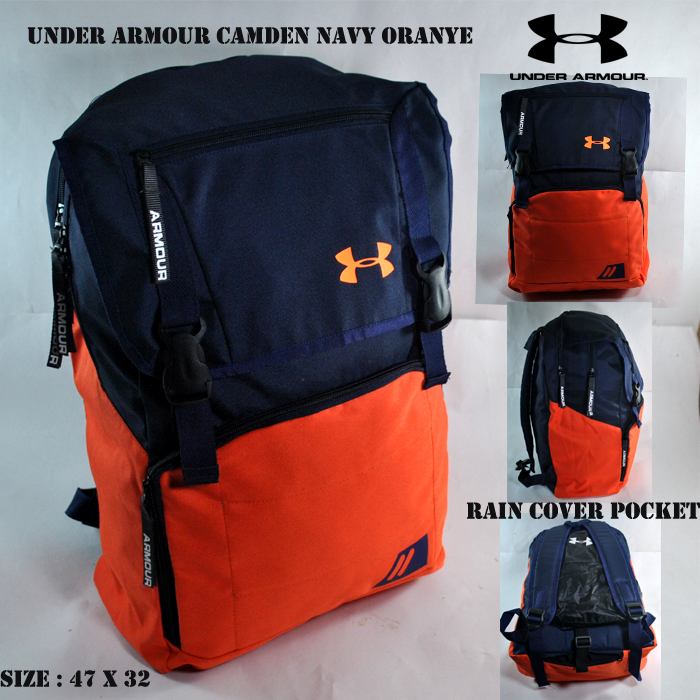 TAS RANSEL UNDER ARMOUR CAMDEN NAVY ORANGE