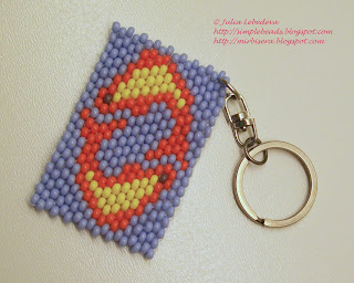 Brick stitch: Pisces (Zodiac sign)
