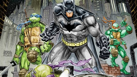 Neal Adams Draws Variant Cover For Batman And Teenage Mutant Ninja Turtles Adventures