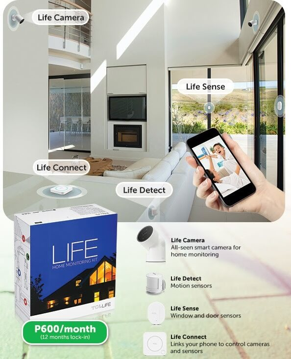 Smart Offers TCL Life Home Monitoring Kit; Best Bundled with GIGA SURF 499