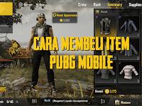 Cara Membeli Baju, Celana, dan Item Lainnya di PUBG Mobile