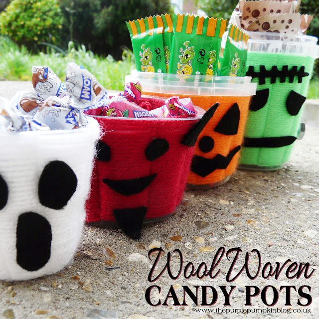 Wool Woven Candy Pots