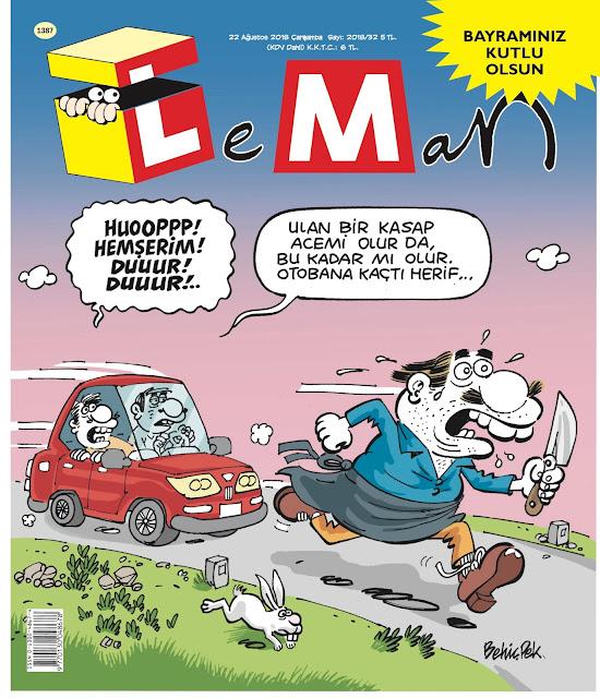 LeMan Dergisi | 22 Ağustos 2018 Kapağı
