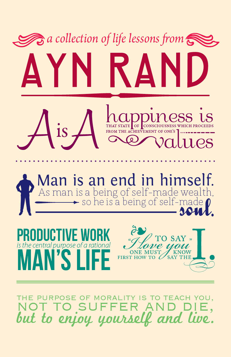 List of Ayn Rand Books in Chronological Order