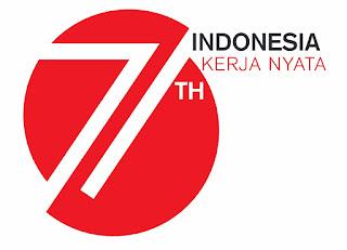 Logo HUT Kemerdekaan RI ke 71 tahun 2016