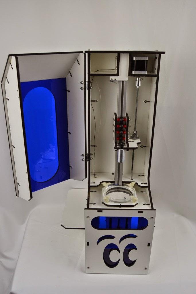 DIY 3D Printing: DropLit Sub $600 DLP 3d Printer Kit Made