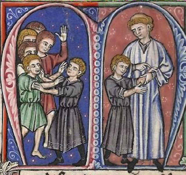 O preceptor Guilherme de Tiro descobre a doença de Balduíno