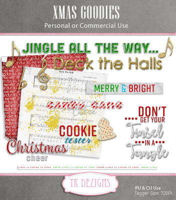 New Xmas Freebies