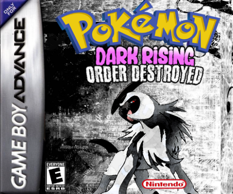 Pokemon dark Rising: Order Destroyed Version