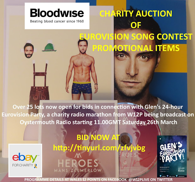 Eurovision Radio International Charity Auction Of