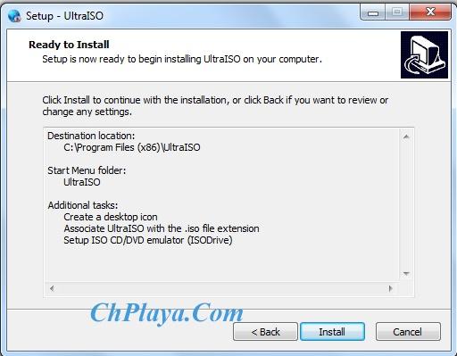 Hướng dẫn Cài đặt UltraISO 3