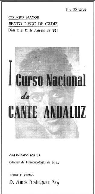 JUAN TALEGA PARTICIPA EN EL I Curso de Arte Andaluz
