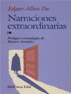 Portada del libro narraciones extraordinarias descargar epub y pdf gratis