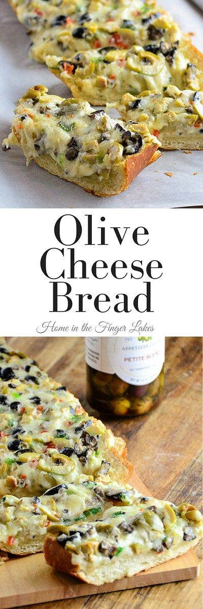 OLIVE CHEESE BREAD RECIPE #appetizer #bread #cheese