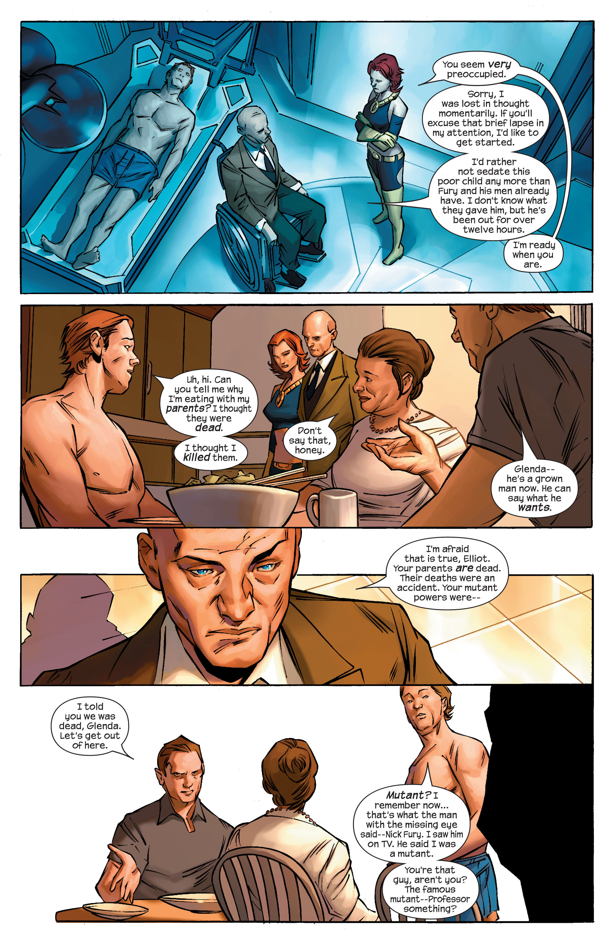 Read online Ultimate X-Men comic -  Issue #69 - 4