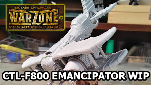 Warzone Resurrection Emancipator Aircraft WIP - more videos from my channel