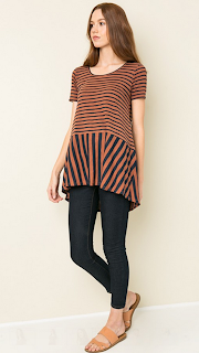 http://shoptwodots.com/product/mixed-stripe-circle-tee/