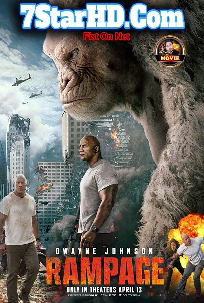 Rampage (2018) HDCAM-Rip Dual Audio [Tamil + Russian] Line Audio 700MB