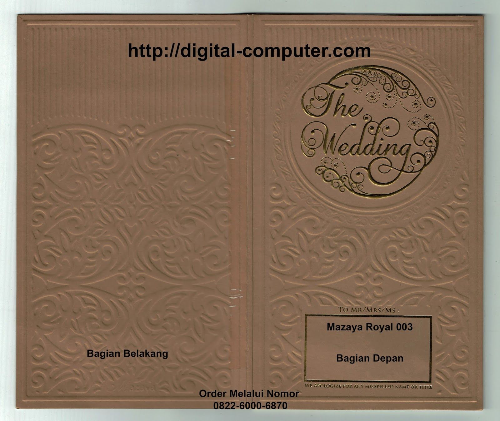 undangan hardcover Mz-Royal 003