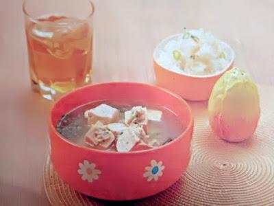 Gambar Resep Sup Tahu Isi Lezat